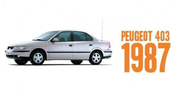 9) Peugeot 405 авто, история, факты
