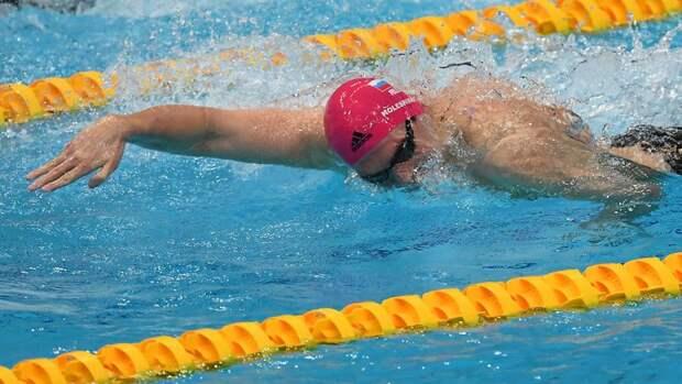 Климент Колесников выиграл золотоЧЕ надистанции 50м наспине сновым мировым рекордом