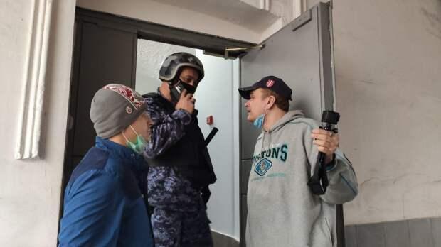 Активисты SERB и НОД попытались сорвать конференцию пропагандистов майданных технологий