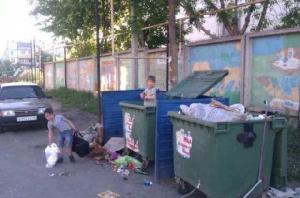 Жительница Севастополя обнаружила на помойке голодную девочку
