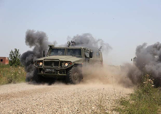 На Кубани спецназовцы ЮВО впервые апробировали постановку воздушно-наземных засад в ходе командно-штабного учения