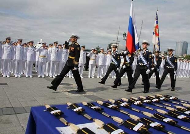 Во Владивостоке состоялся 78-й выпуск офицеров и мичманов Тихоокеанского высшего военно-морского училища имени С.О.Макарова