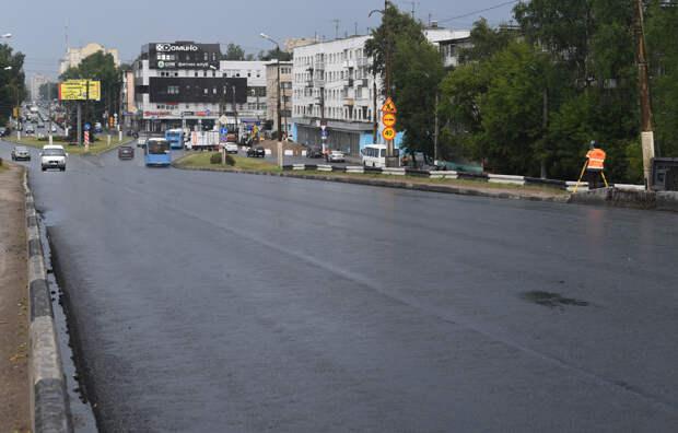 В Твери больше половины запланированных дорог привели в порядок