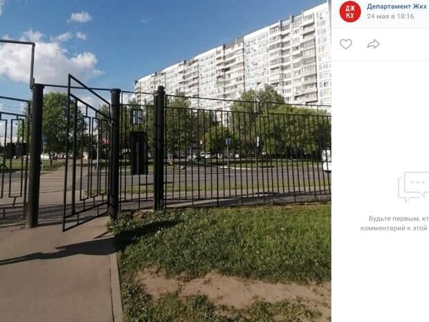 Установка мусорных контейнеров у входа в парк 850-летия Москвы не предусмотрена паспортом объекта — префектура