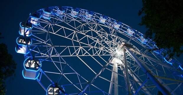 Стало известно, когда в парке Дзержинска появится колесо обозрения