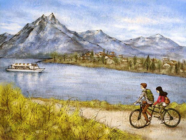 Велопрогулка в Швейцарию