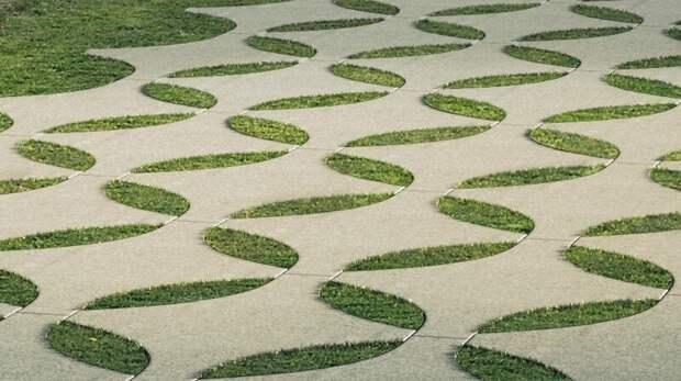 20 фантастических садовых дорожек, которые ненавидят женщины на шпильках Фабрика идей, дизайн, зеленые дорожки, красота, украшение