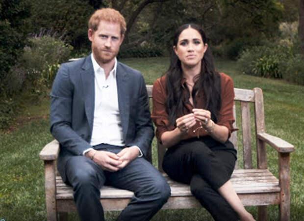 Меган Маркл и принц Гарри впервые выступили на телевидении после переезда в США