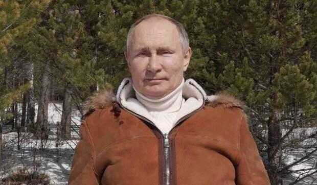 """""""У него стальные нервы"""": на Западе оценили отдых Путина в тайге"""