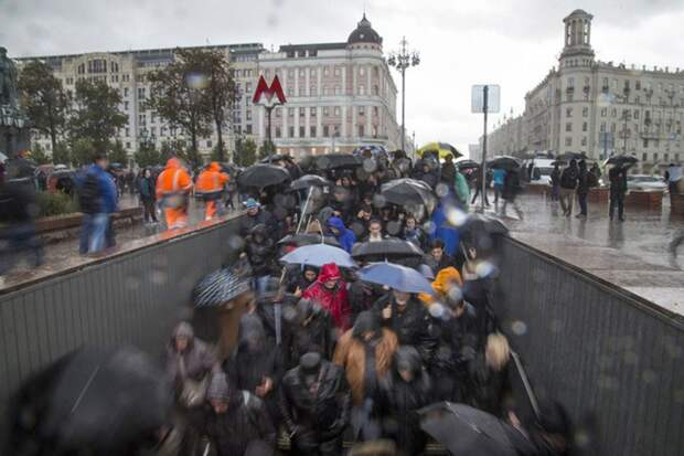 Москву 20 сентября ждет сильнейший за последние 73 года ливень