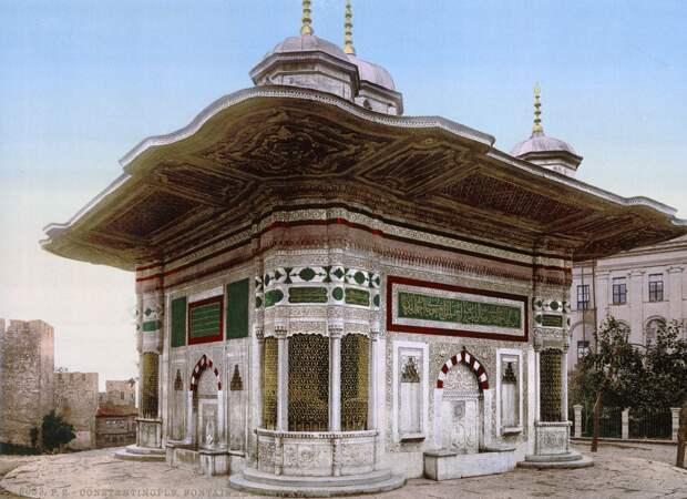 Цветные открытки Константинополя 3
