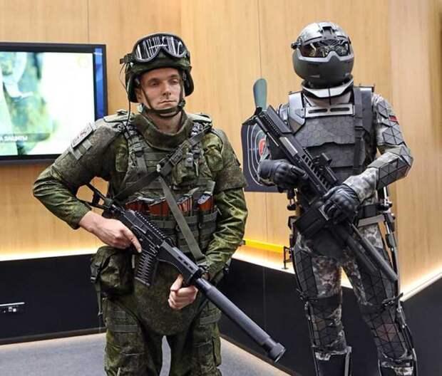 В США назвали в чем российский «Ратник-3» превосходит американский «Талос»