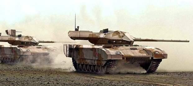 NI: испытания российского Т-14 «Армата» в Сирии дали интересные результаты