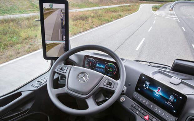В России начнут выпуск Mercedes без зеркал заднего вида