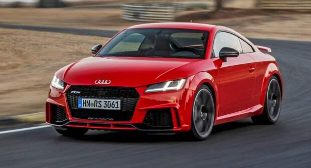 Компактное купе немецкой компании Audi: TT