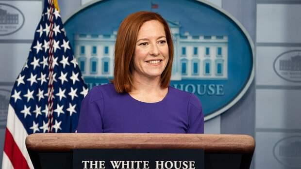 Псаки заявила о планах покинуть пост пресс-секретаря Белого дома через год