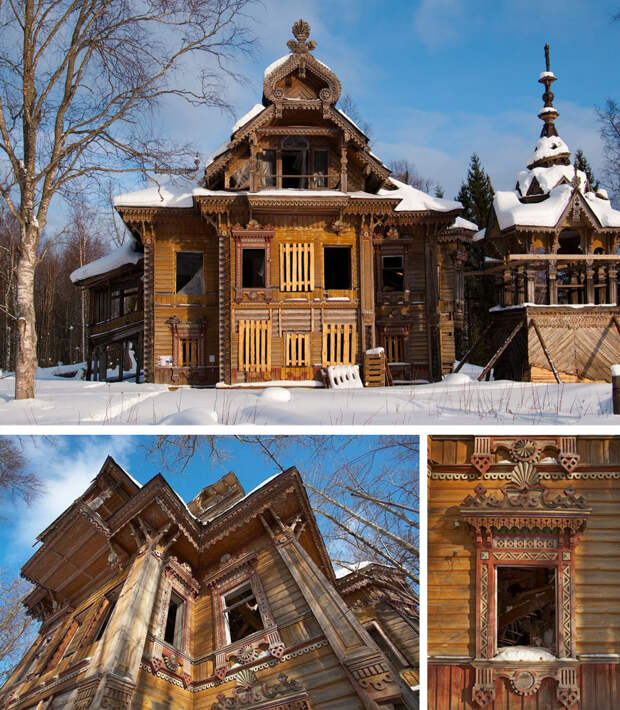 Усадьба Сазонова в Костромской области