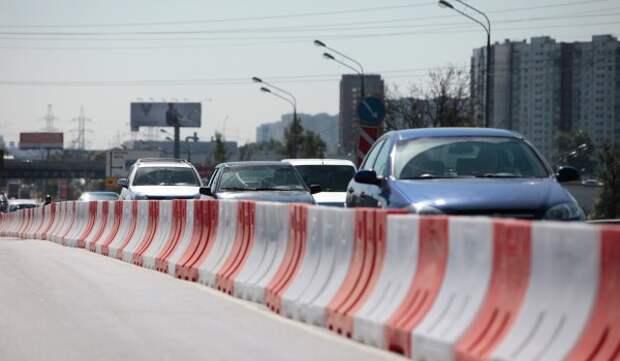 До 17 апреля ограничено движение транспорта на участке улицы Александры Монаховой в ТиНАО