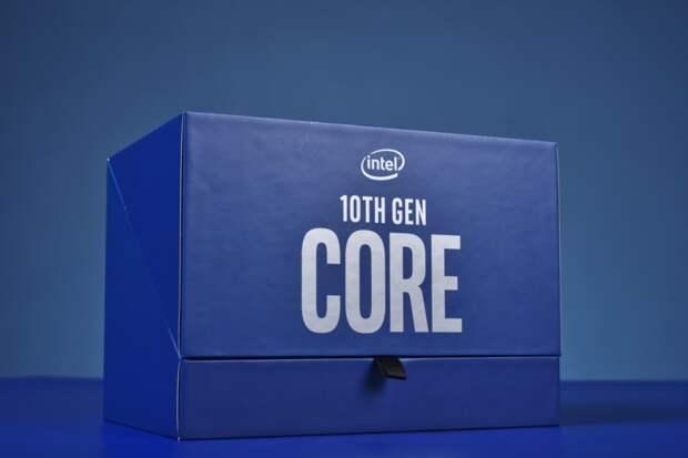В России упала стоимость процессоров Intel Core десятого поколения
