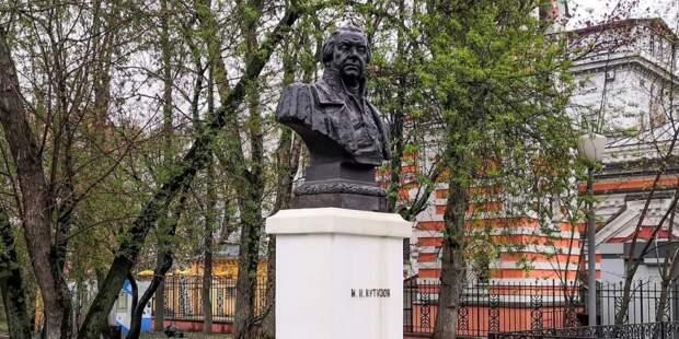 В Москве отреставрируют установленный более 60 лет назад памятник Кутузову