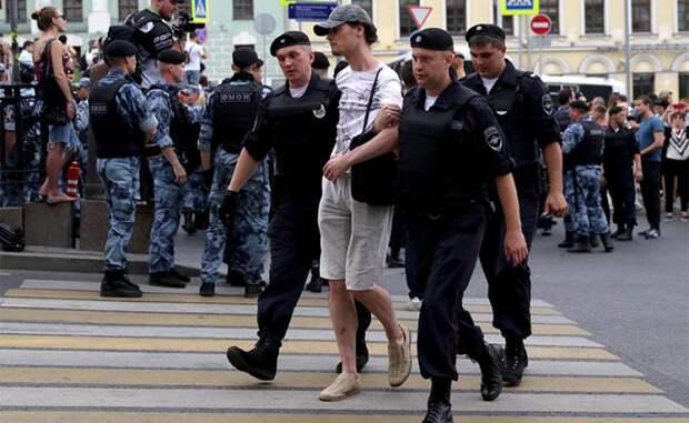 Репетиция Майдана началась теперь уже и в России