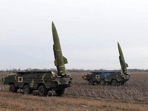 Украинские ракетчики провели учения с комплексами «Точка-У» рядом с Крымом