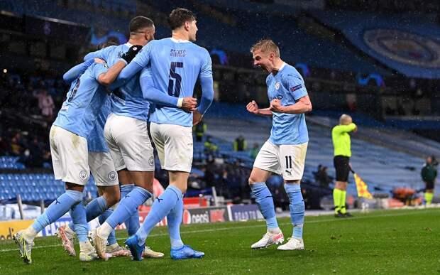 «Манчестер Сити» обыграл «ПСЖ» в ответном матче и впервые вышел в финал Лиги чемпионов