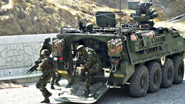 Американская военная техника будет переброшена из Венгрии в ФРГ через Чехию