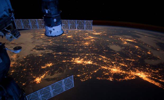 Следы нашей цивилизации, которые видно из космоса
