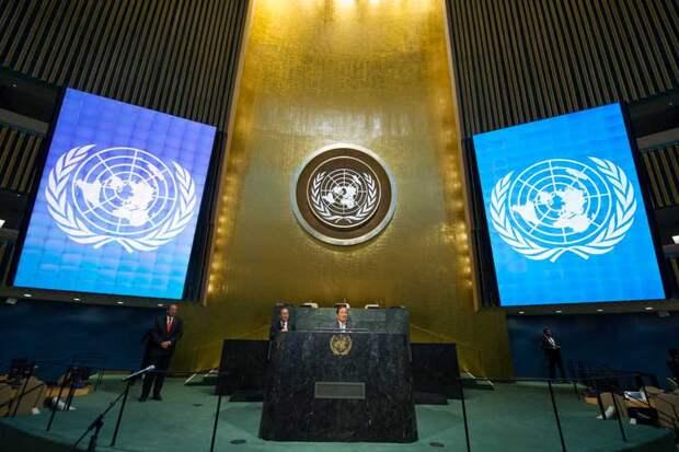 Генассамблея ООН приняла резолюцию за прекращение боевых действий в Сирии