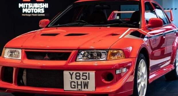 Редкий Mitsubishi поставил рекорд аукционной цены в Британии