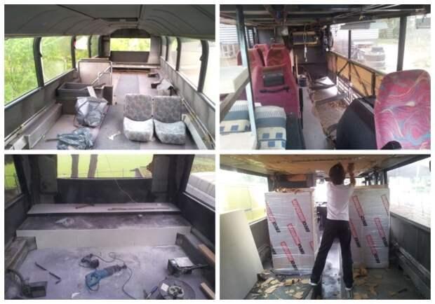 Реконструкцией автобуса занимался сам автор идеи. | Фото: photos.google.com.