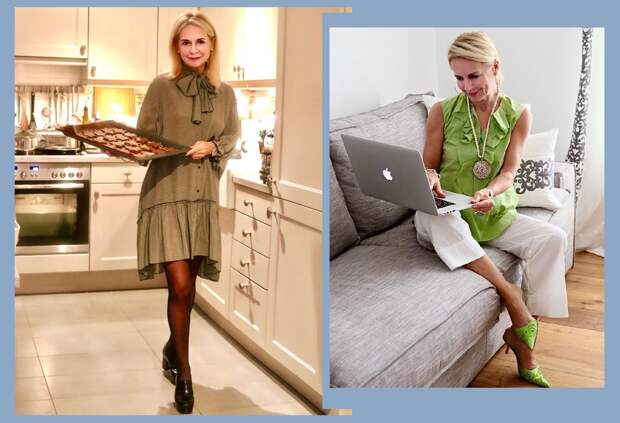 Что носить дома симпатичного в 50+. Примеры от звезды Инстаграма