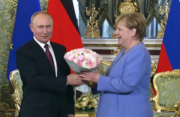 В Москве началась встреча Путина и Меркель