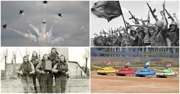 Военные игрища в одном посте: авиадартс, танковый биатлон, Зарница и прочие
