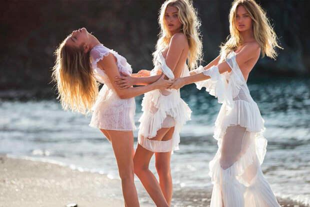 Ангелы разделись для испанского Vogue
