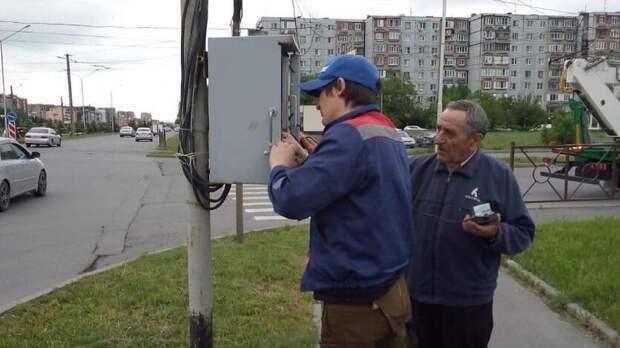ВоВладикавказе засутки восстановили все сломавшиеся из-за непогоды светофоры