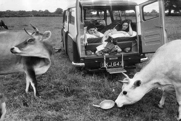 Послевоенная Великобритания в фотографиях Тарстона Хопкинса