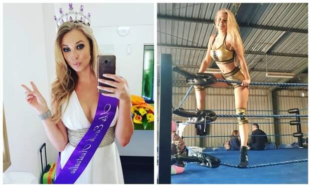 Убийственная красота: «Мисс США» стала рестлером исломала нос бывшему бойфренду