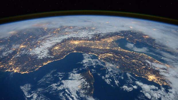 Вид Земли с МКС - РИА Новости, 1920, 03.10.2020