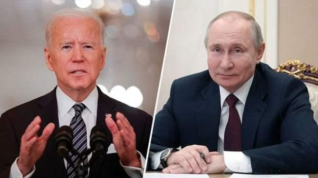 Британские СМИ: Встреча Путина иБайдена может улучшить отношения между странами