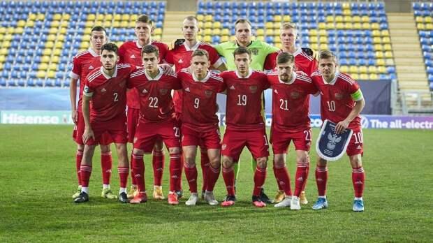 Назван состав молодежной сборной России на матчи с Болгарией и Сербией