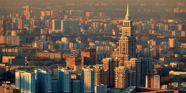 Собянин рассказал о том, как сделать Москву лучшим городом Земли Фото: М. Денисов mos.ru