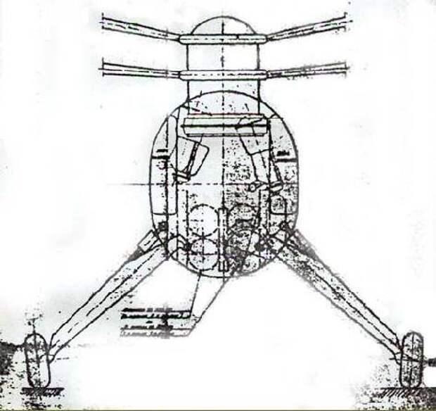 Неудавшийся долгострой. Опытный вертолет Gyroplane G.20 (Франция)
