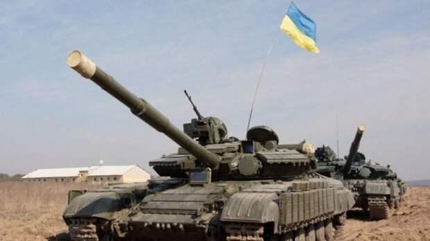 ОБСЕ обнаружила странные разукомплектованные танки ВСУ в Луганской области