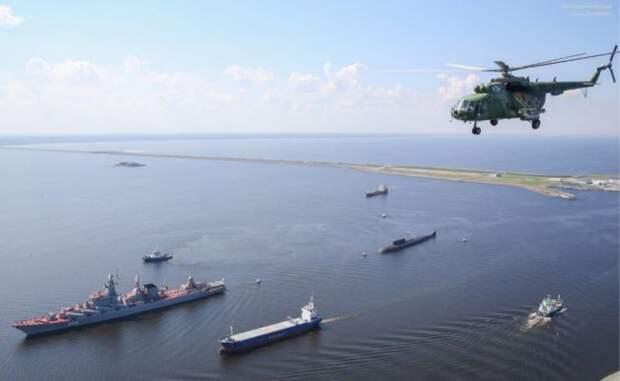ВМФ и ВКС России начали учения в Средиземном море