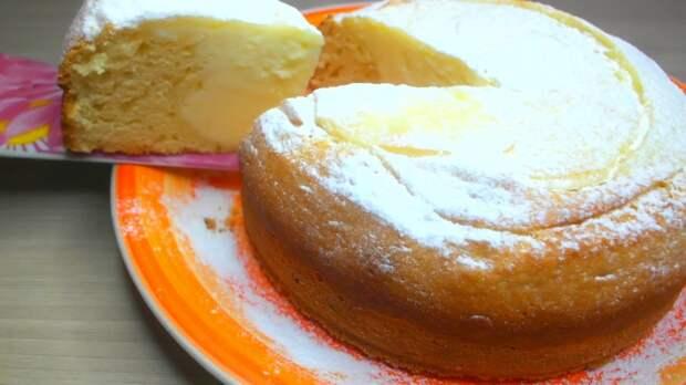 Ленивая ватрушка по-королевски: готовим творожный пирог без лишних хлопот