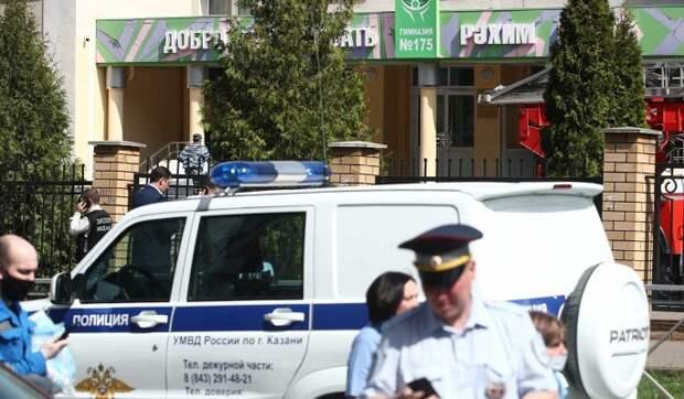 Дым и бегущие дети: жуткие кадры стрельбы в школе в Казани
