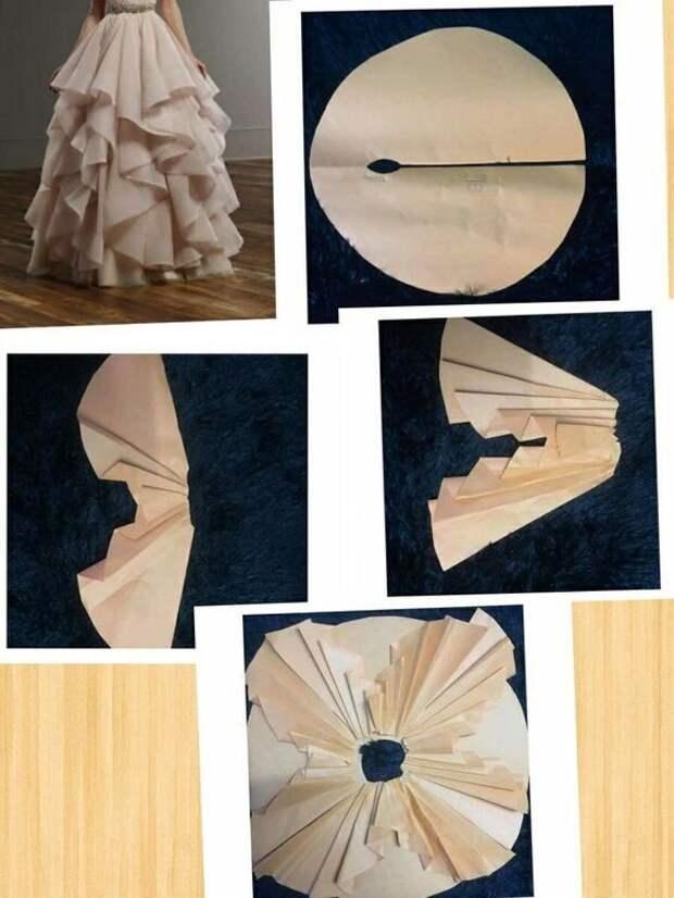 Как кроить пышную нарядную юбку