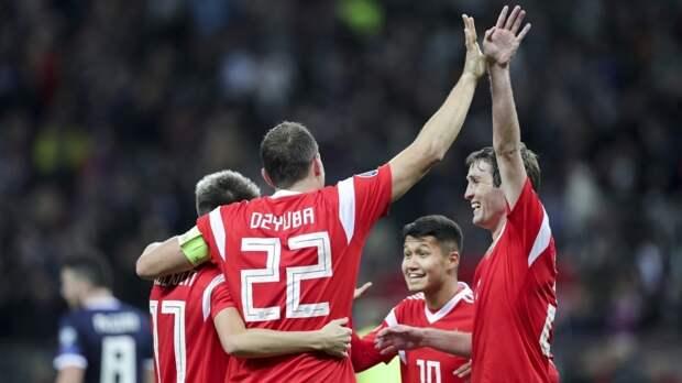 Российские футболисты прибыли в Петербург в преддверии чемпионата Европы